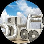 BET fluides thermique: Chauffage, ventilation et climatisation
